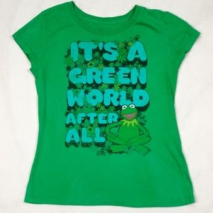 """It's a Green World After All"" Kermit T-shirt"